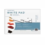"New Wave Disposable White Paper Palette Pad - 11""x16"" 40 Sheet Pad"