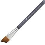 Princeton Elite Synthetic Kolinsky Sable Watercolor Brushes - Angle Wash - Size 3/4""