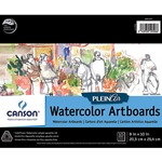 "Canson Plein Air Watercolor Artboard Pads - 8""x10"""