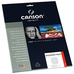 "Canson Infinity - Discovery Pack - 9 Assorted 8.5""x11"" Sheets"