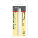 General Pencil Factis Pen Style Eraser Refills Pack of 3