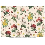 "Tassotti Paper- Antique Scatter Roses 19.5"" x 27.5"""
