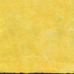 Amate Bark Paper from Mexico - Solid Amarillo Yellow 15.5x23 Inch Sheet