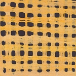 Amate Bark Paper from Mexico- Weave Amarillo Yellow 15.5x23 Inch Sheet