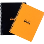 Rhodia Wirebound Notebook - Black