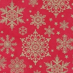 Snowflake Printed Papers