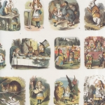 "The Alice Nursery by Sir John Tenniel- Poster Paper 20 x 27"" Sheet"