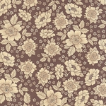 Bertini Florentine Paper- Brown Traditional Floral 19x27 Inch Sheet