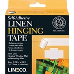 Lineco/University Products Self Adhesive Linen Hinging Tape