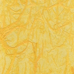 "Thai Sheer Chunky Kozo Paper- Daffodil Yellow 25x37"" Sheet"