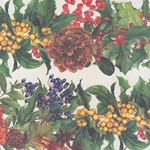 "Tassotti Paper - Christmas Berries 19.5""x27.5"" Sheet"