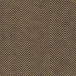 Moving Zig Zag Op Art (Optical Illusion) Paper- Gold on Black