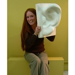 Plaster Casting - Giant Ear
