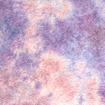 "Thai Sheer Watercolor Momi – Violet/Pink 23x34"" Sheet"