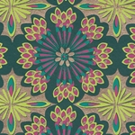 Printed Cotton Paper from India- Kaleidoscope 22x30 Inch Sheet