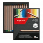Caran D'Ache Luminance 6901 Set of 12 Colors