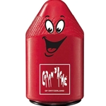 Caran D'ache Plastic Double Hole Pencil Sharpener - Red