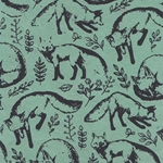 Nepalese Printed Paper- Fox Meadow