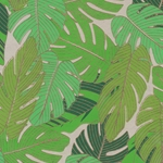 "Printed Cotton Paper from India- Forest Leaves 20x30"" Sheet"