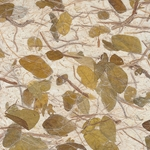 "Raintree Leaf Paper- Forest Floor 25x37"" Sheets"