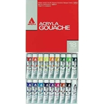 Holbein Acryla Gouache 18-Color 20ml Set