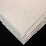 "Arches Text Wove Printmaking Paper- Five 25.5"" x 40"" Sheets"
