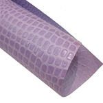 "Crocodile Embossed Paper- Lilac 22x30"" Sheet"