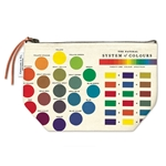 Cavallini Vintage Pouch- Color Wheel