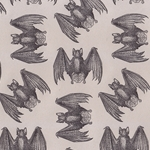 "Rossi Limited Edition Letterpress Paper- Bats 20x28"" Sheet"