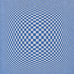 *NEW!* Psychedelic Orbs in Squares Op-Art Paper