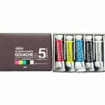 Holbein Designer Gouache set of 5 15ml tubes