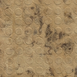 "Amate Bark Paper from Mexico- Coin Pattern Marble Moteado 15.5x23"" Sheet"