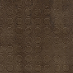 "Amate Bark Paper from Mexico- Coin Pattern Cafe Coffee Brown 15.5x23"" Sheet"