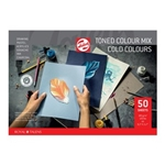 Talens Paper Toned Paper mix cold, A4, 180 g, 50 pages