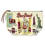 Cavallini Vintage Pouch- New York City Icons