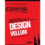 Clearprint Vellum 8-1/2 x 11 inch pad of 50 sheets