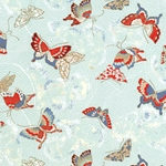 "Butterflies in Spring Breeze - 18""x24"" Sheet"