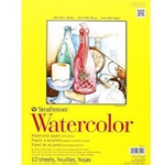 "Strathmore Watercolor Pads - 300 Series 140lb Cold Press - 9""x12"" Pad of 12 Sheets"