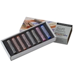 Daler-Rowney Soft Pastels - Warm Selection Set of 8
