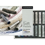 Daler-Rowney Soft Pastels - Grey Selection Set of 16