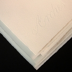 "Arches Text Wove Printmaking Paper Ten 19.5""x25.5"" Sheets"