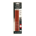 Wolff's Carbon Pencils - Set of 4 Assorted