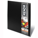 "RENDR No Show Thru Sketchpad - 9""x12"" 48 Sheet Pad"