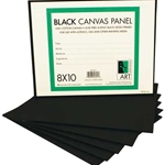 Art Alternatives Black Canvas Panels