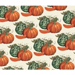 Rossi Decorative Paper from Italy- Pumpkins 28x40 Inch Sheet