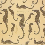 Rossi Decorative Paper from Italy- Seahorses 28x40 Inch Sheet