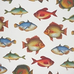 Rossi Decorative Paper from Italy- Fish 28x40 Inch Sheet