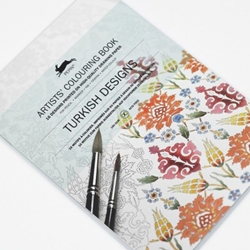 Pepin Artists' Colouring Books - Turkish Designs