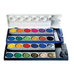 Pelikan 12 Color Opaque Watercolor Pan Set