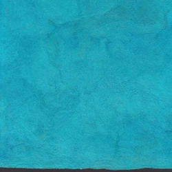 Amate Bark Paper from Mexico- Solid Turqueza 15.5x23 Inch Sheet